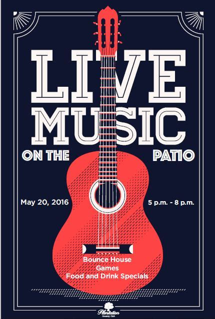 template flyer music live music concert event flyer poster template live