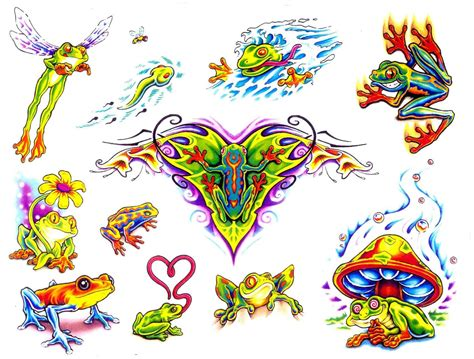 cartoon frog tattoo designs few frog designs froggies for my frog