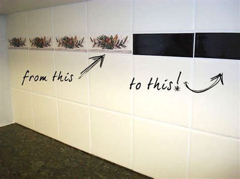how to cover an ugly kitchen backsplash way back disguising ugly feature tiles alipar