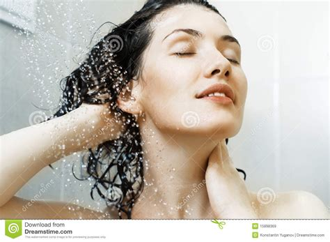 at the shower royalty free stock images image 15898369