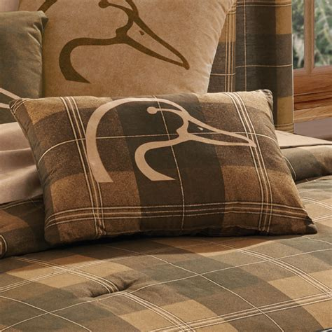 ducks unlimited bedding camo throw pillows ducks unlimited plaid oblong pillow