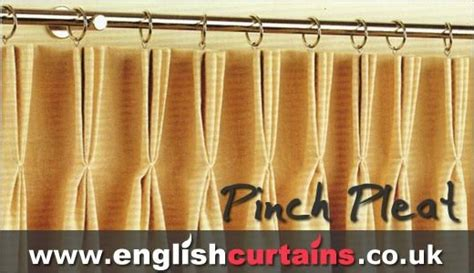triple pleat curtain heading 20 best curtain finishes images on pinterest curtains