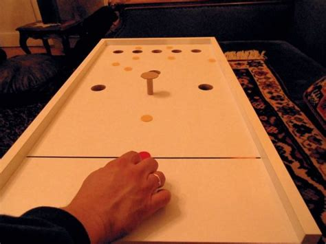 table top bar games a small rex or bar billiards game without balls