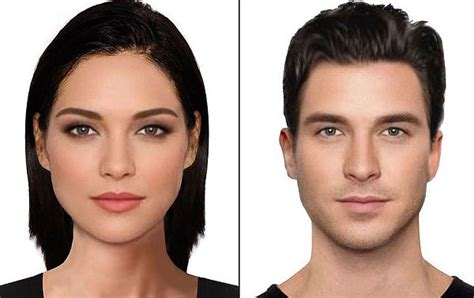 celebrity definition pdf this is what the most beautiful man and woman look like