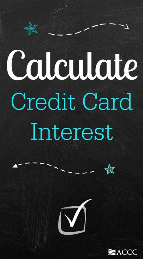 Credit Interest Formula 17 Best Ideas About Credit Card Interest On Finance Financial Planning And