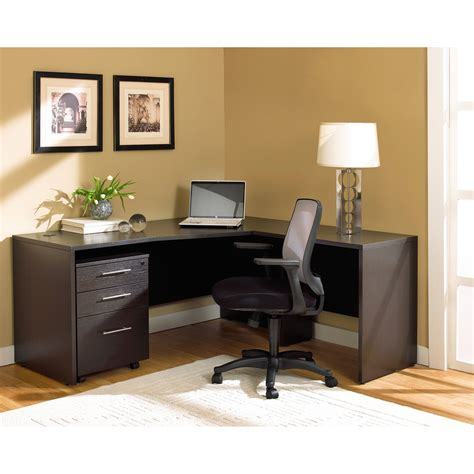 Modern Corner Office Desk Modern Corner Desks For Home Office With L Shape Design And Swivel Chair With Back Design