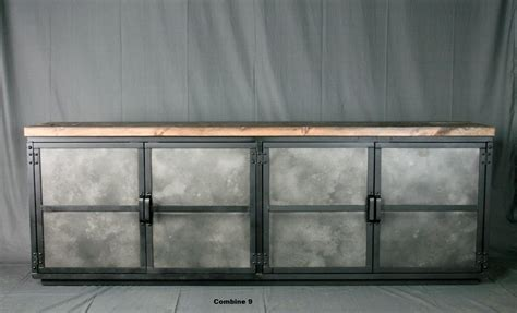 Handmade Industrial Furniture - buy a crafted industrial credenza media console