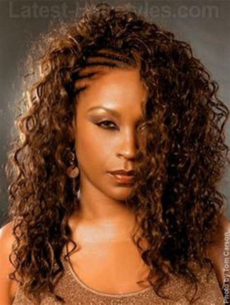 loose braid hairstyle for black women crochet braids with loose curls newhairstylesformen2014 com