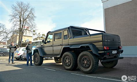 mercedes 6x6 mercedes g 63 amg 6x6 4 may 2016 autogespot