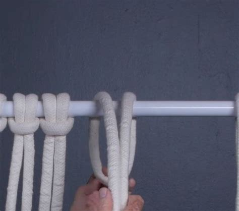 How To Make Macrame Knots - how to make four basic macrame knots diy projects craft