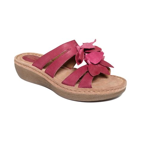 fuschia sandals clarks amaya lilly sandals in pink fuschia lyst