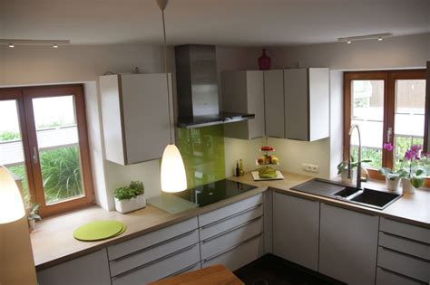 küche grau kuche holz weis k 252 che wei 223 grau interieur ideen