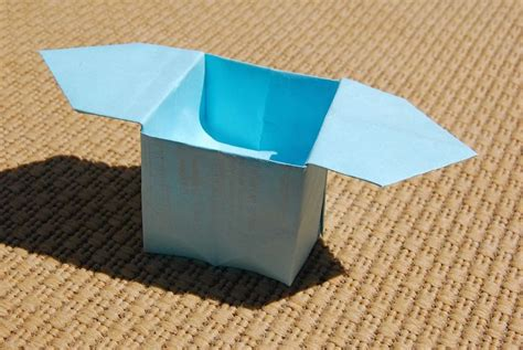 Japanese Origami Box - japanese offering box origami tutorial diy ideas