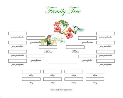 Family Tree Template 29 Download Free Documents In Pdf Word Ppt Psd Vector Illustration Family Tree Templates For Microsoft Word