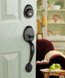Front Door Lock Set Front Door Entry Set Lock Rubbed Bronze Lever Lh Ebay