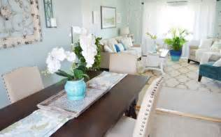 Inexpensive Dining Room Ideas Solid Wooden Table And Comfortable Leather Chairs For