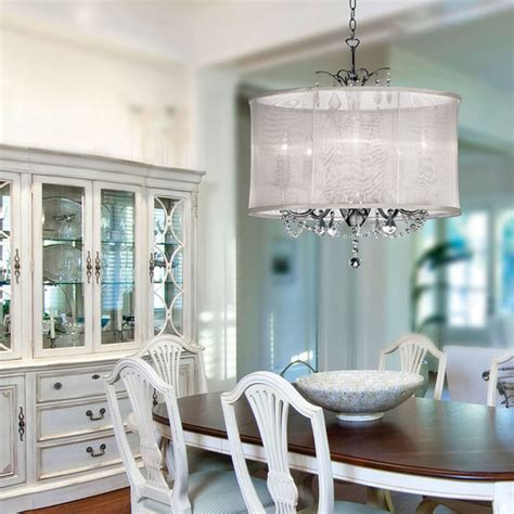 chandelier in dining room drum shade chandelier kitchen modern with