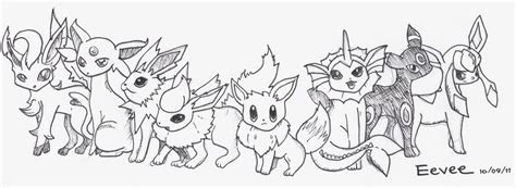 pokemon coloring pages all eevee evolutions eevee cute pokemon coloring pages images pokemon images