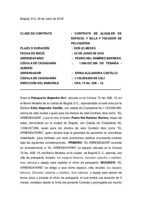 contrato de alquiler peru 2016 contrato de alquiler 2016 argentina modelo contrato