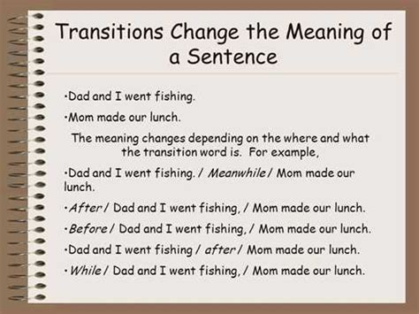 Exles Of Transitions For Essays by Transition Sentences For Essays
