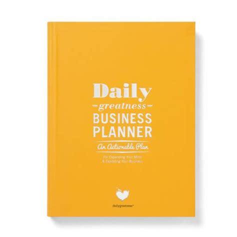 Daily Business Planners Daily Greatness Business Planner Kopen Notitieboeken