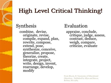 exle of critical thinking critical thinking competency experience best custom