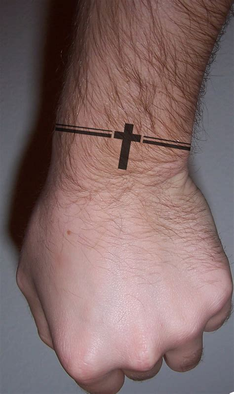 small arm tattoos men small cross tattoos for mens wrist tattoos