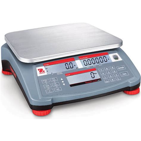 scales scales counting ohaus ranger count 3000 compact digital counting scale 6lb x 0 002lb ohaus rc31p3 ranger count 3000 compact bench scale 6 lb 3kg capacity 0 0001kg readability