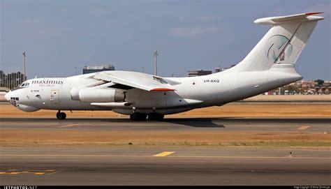 ur bxq ilyushin il 76td maximus air cargo ukraine air alliance michal zolnierczyk