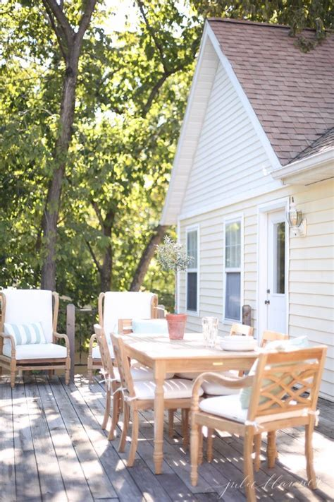 Timeless Wood Patio Furniture For The Lake Cottage Cottage Outdoor Furniture