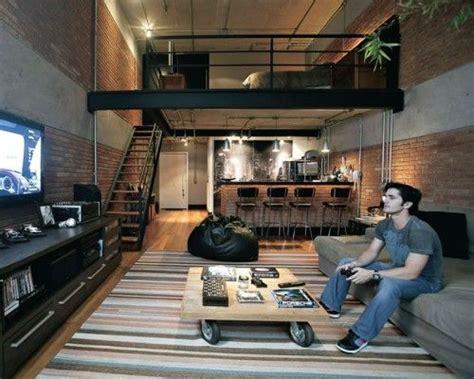single man home decor best 25 small loft apartments ideas on pinterest