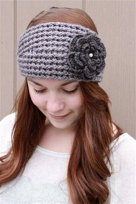 crochet pattern flower headband 32 crochet headband design ideas diy to make