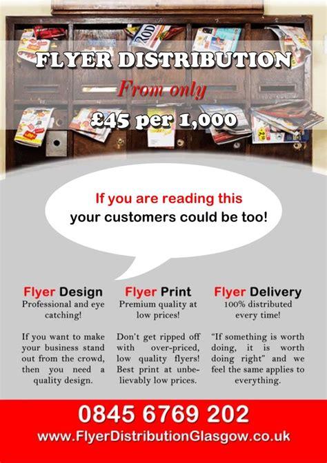 leaflet design glasgow leaflet distribution glasgow design print and