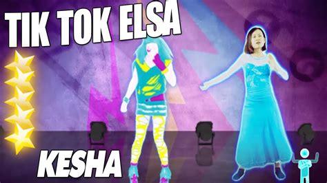 dance tutorial to tik tok tik tok elsa real person version just dance 2016