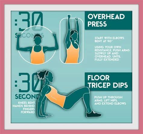 esercizi con i pesi a casa esercizi per tonificare le braccia con e senza pesi