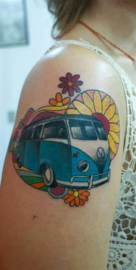 vw bus tattoo vw das vw tattoos buses and