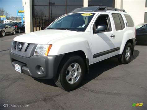 2005 avalanche white nissan xterra s 27498956 gtcarlot car color galleries