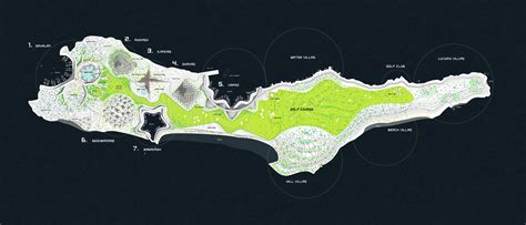 Orgnize by Gallery Of Zira Island Carbon Neutral Master Plan Big