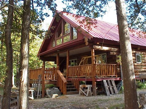 Small Cabins For Rent by Lake Vermilion Minnesota Marina And Island Log