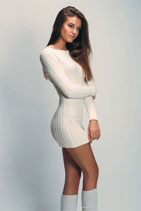 Sweater Give Me A White 89 best knit dress images on sweater dresses fall winter and knit dress
