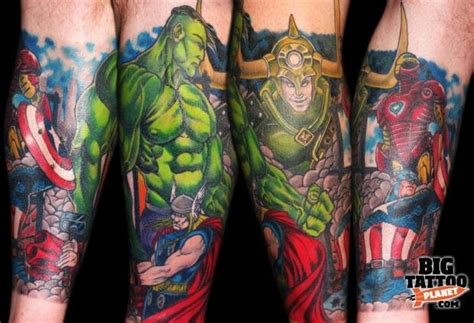 marvel sleeve tattoo designs marvel epic ink ink half sleeves