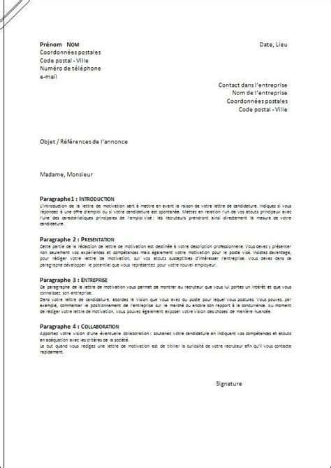 Lettre De Motivation Stage Ouvrier 25 Best Ideas About Mod 232 Le Lettre De Motivation On