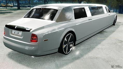 rolls royce inside limo sapphire rolls royce phantom limousine disco limo for gta 4