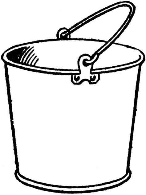 bucket clipart etc
