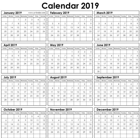 fillable yearly calendar  excel