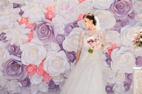 Paper Flower Backdrop Dekorasi Bunga Kertas 19 diy paper flower untuk dekorasi photobooth
