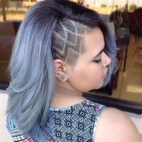 50 fab female undercuts scallop lace | hairstyles