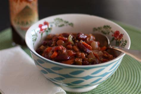 best turkey vegetable chili recipes two bean vegetarian chili recipe dishmaps