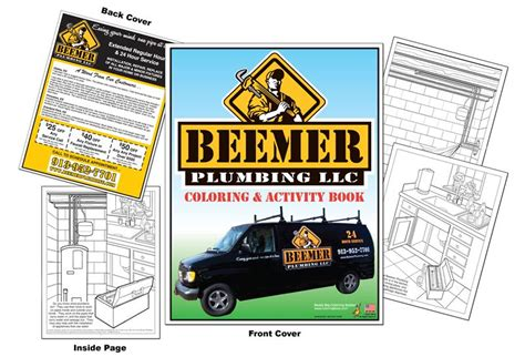 Plumbing Books by Coloring Books Beemer Plumbing Llc Coloring And Activity