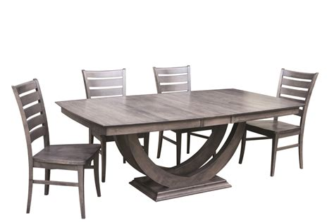 dining room galley 2 trestle table mclearys canadian